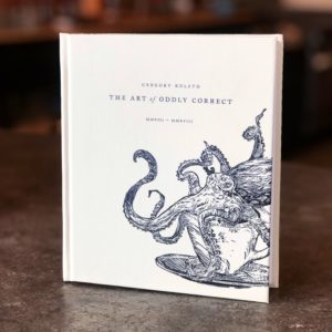 Art of Oddly Correct Gregory Kolsto Book