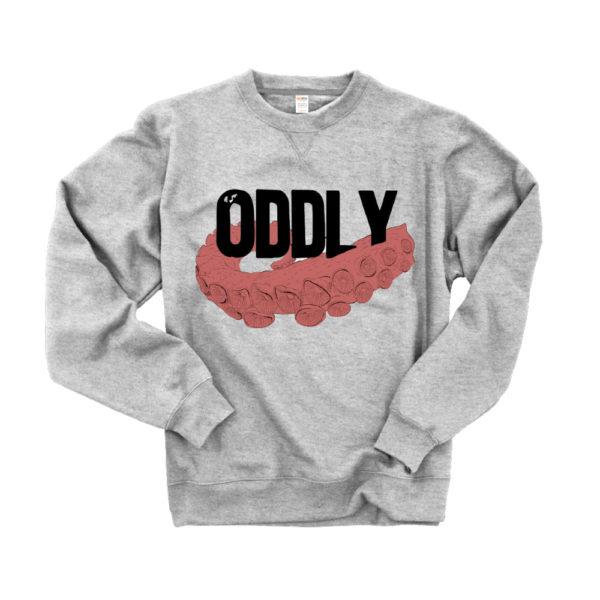 oddly correct tentacle sweatshirt